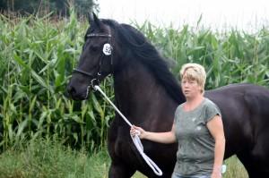 Alina met paard
