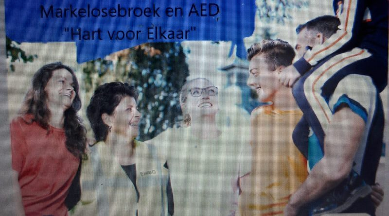 "Rabo Clubkas Campagne AED ""Hart voor Elkaar"""